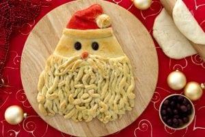 Babbo Natale di pasta