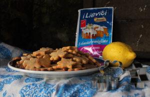 Biscotti vegan al limone