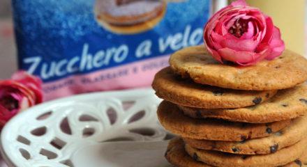Cookies con zucchero a velo