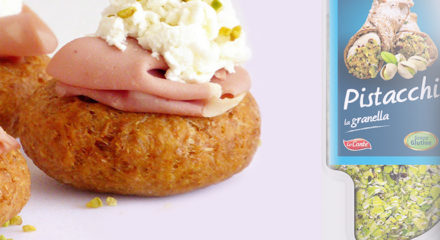 Pizzette fritte integrali con pistacchio: ecco come realizzarle