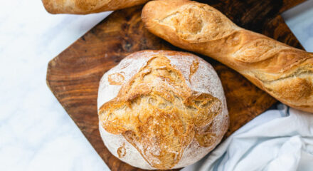 Il pane in casa facile facile