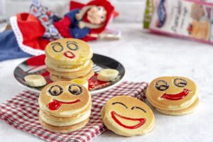 Pancakes smile